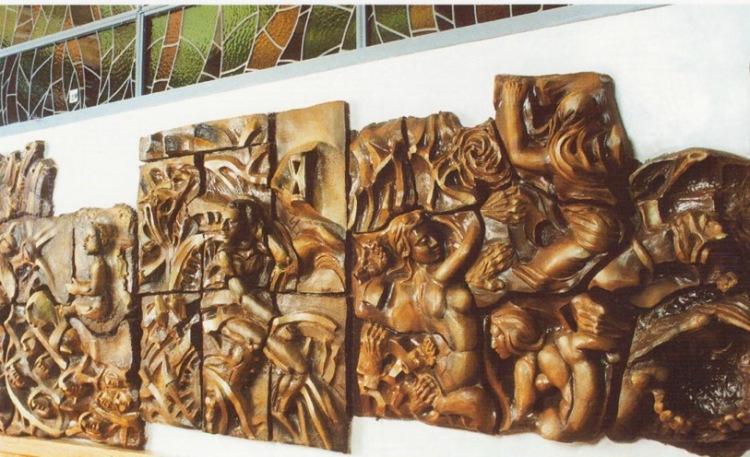 Mural de la miseria humana